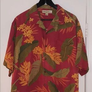 Tommy Bahama - Silk - Mens Button Front hawaiian